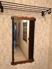 Garderobe-Set bestehend aus Hängegarderobe Spiegel