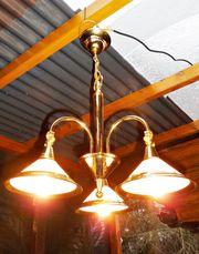 Schöne Deckenlampe Lampe Deckenleuchte Messingfarben