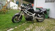 Biete sehr gepflegte Suzuki SV650