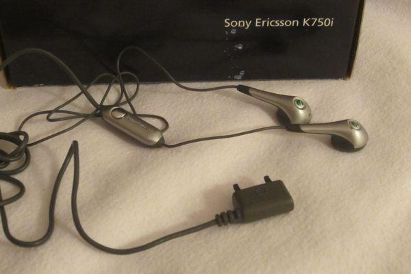 Haedset Freisprecheinrichtung Sony Ericsson Original