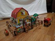 Playmobil Ponyhof und Kutsche
