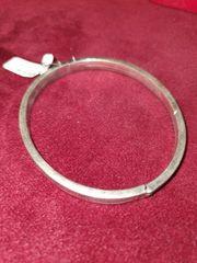Silber 835 Armreif Scharniert Kastenverschluss