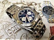 Breitling Chronomat B01- blau - ungetragene
