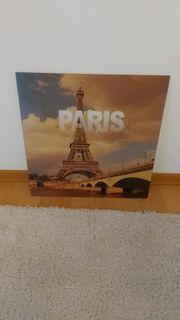 Glasbild Paris