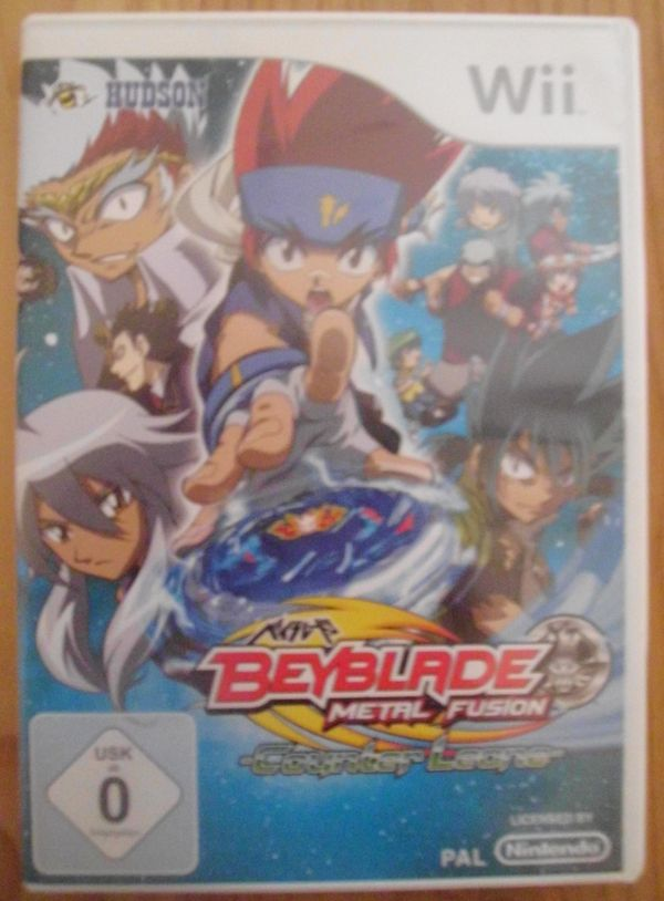 WII Spiel BEY Blade Metal