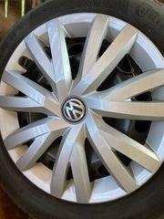 4 VW Winterreifen Conti mit