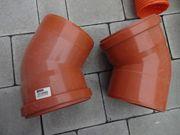 Verschiedene KG-Rohre DN160 und DN110