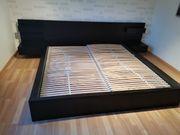 Bett 180x200 Malm Ikea inkl