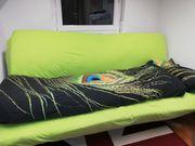 Couch mit Bettfunktion zu verschenken
