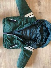 Winterjacke grün Gr 80