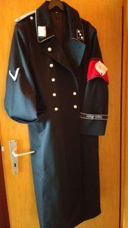 Schwarzer Mantel ESES Originale Repro