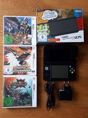 Nintendo 3ds inklusive 3 Spielen