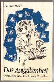 Buch Friedrich Minster Das Aufgabenheft