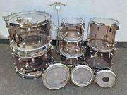 Vintage-Drum-Set SONOR Phonic Acryl smokey