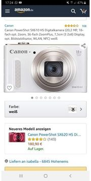 Canon Digitalcamera