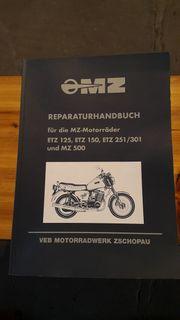 Reparaturhandbuch für MZ Motorräder mit