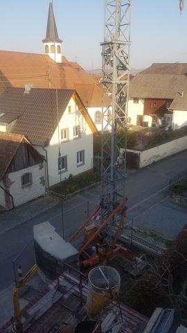 Bild 4 - Baukran Peiner 25m Ausladung Tragkraft - Rheinhausen