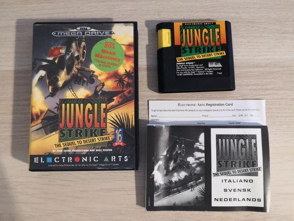 Sega Mega Drive Spiel Jungle