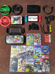 Nintendo Switch Paket mit 17