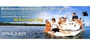 Chartern von neuen Bayliner-Motorboote in