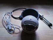Mikrofon - Blue Snowball Weiß