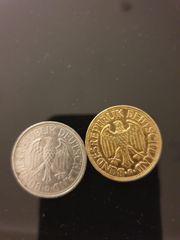 1 DM Münzen 1950 1996