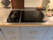 Einbauküche blau mit Siemens Geräten