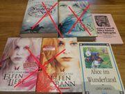 Verschiedene Bücher zu verkaufen