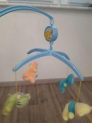Mobile für Babybett mit Spieluhr
