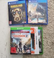 3 Games Ps4 Xbox Division