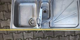 Edelstahlspühle von Franke 100x50: Kleinanzeigen aus Plankstadt - Rubrik Küchenzeilen, Anbauküchen