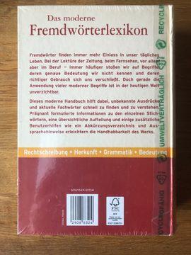 Schul- und Lehrbedarf - Das moderne Fremdwörterlexikon - Für Schule