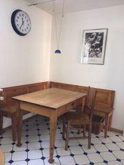 Bauernmöbel Tisch Eckbank Stuhl