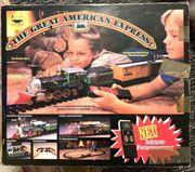 Antike Eisenbahn AmericanExpress