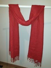 Pashmina Schal in rot 30