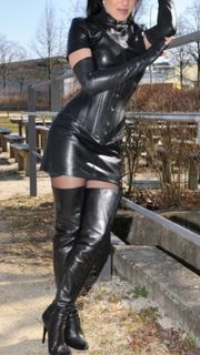 Lady sexy Dom besucht dich
