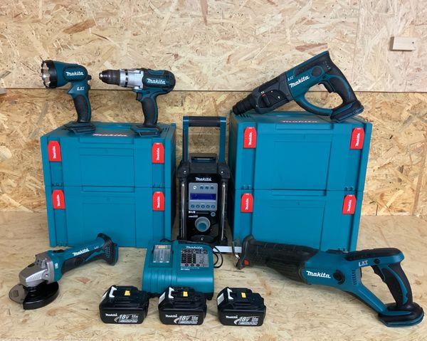 Makita Akku-Maschinen Set LXT 18V