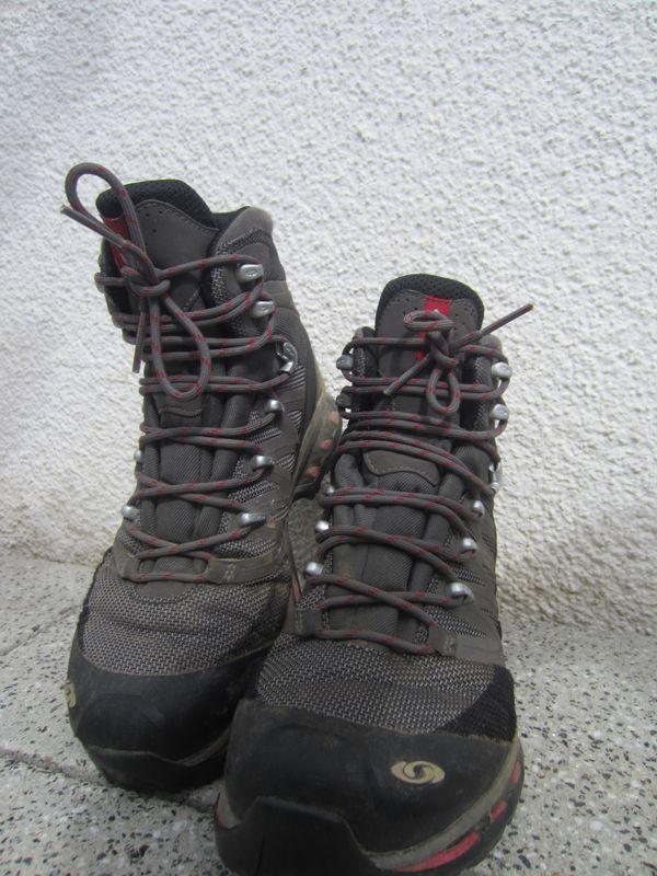 best cheap 7a312 33b55 Salomon Damen Trekking-Schuhe Gr. 38 grau in Marbach ...