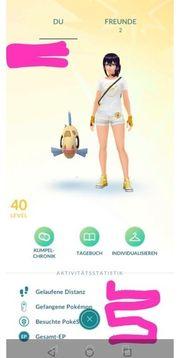 Pokemon go acc 40lv
