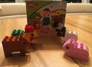 Lego Duplo Bauernhoffiguren mit Bilderbuch
