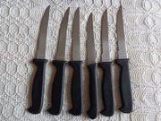 Besteck 5 Stück einfache Steakmesser