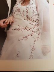 Hochzeitskleid gebraucht Größe 54 guter