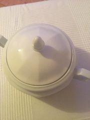 Vintage Suppenschüssel weiß