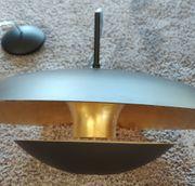 Hochwertige Design Deckenlampe Schwarz Gold