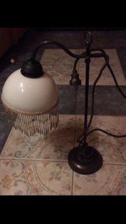 schoene dekorative Jugendstil-Stehlampe Hoehe 52