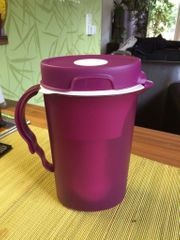 Tupperware Eco Wasserfilter Kanne Lila