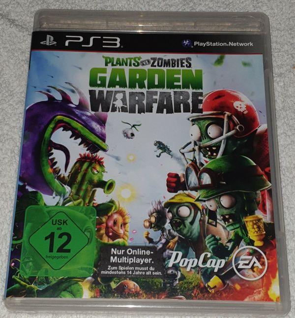 Für PS3 Plants vs. Zombies Garden Warfare