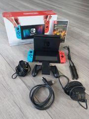 Nintendo Switch Spielekonsole OVP mit