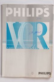Orig Bedienungsanleitung Philips VCR 242