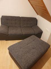 Verkaufe Zweisitzer inkl Beistellhocker
